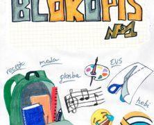 Izhajati je začel Blokopis