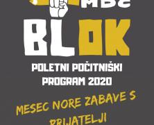 poletje z blokom 2020